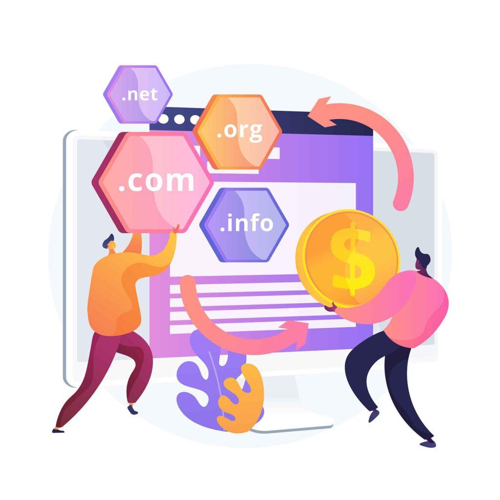 Compra de dominios web
